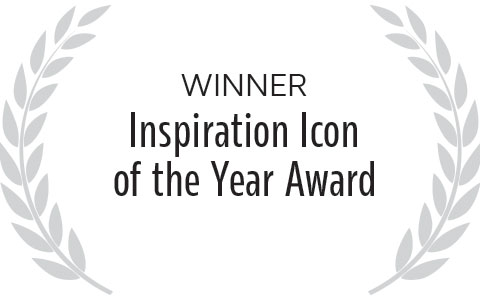 Eric Fisher is the winner of the Inspiration Icon of the Year Award