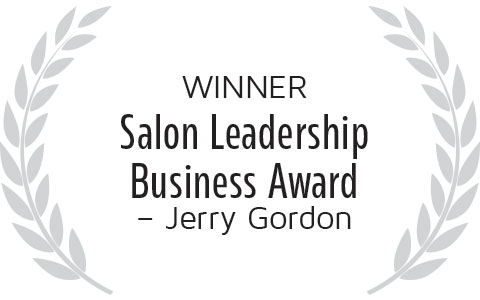 Eric Fisher is the winner of the Jerry Gordon Salon Leadership Business Award
