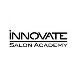 Innovate Salon Academy logo for the Prosper U school section on About Us webpage